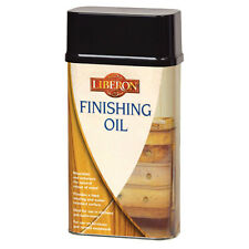 Liberon Finishing Oil 500ml Wood Protection Ideal for Kitchens and Bathrooms