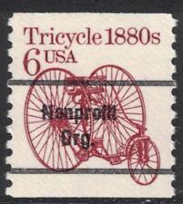 Scott 2126a- Precancel, 6c Tricycle 1880s, Transportation Coil Series- MNH