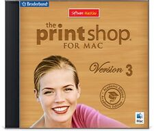 The Print Shop 3 for Mac - 3 user  *NEW*