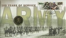 **2001 Centenary of the Australian Army $1 PNC**