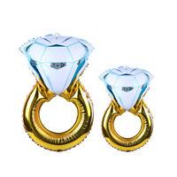 Bague diamant ballons hélium fête mariage cérémonie décoration ITRFR