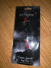 "The Twilight Eclipse Keyring/Bag Clip ""Team Jacob"" Neca / NEW IN PACKAGE RARE!"