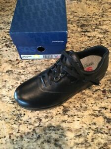 SAS Women's Free Time Black 9 Narrow Walking Shoes