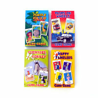 Card Games Children's Classics Happy Families Wheels Pairs Donkey Jungle Snap