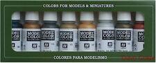 Av Vallejo Color Modelo 70118 Set Metalizados 8 X 17ml