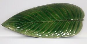 Costa Nova Tomate Leaf Dish 40cm