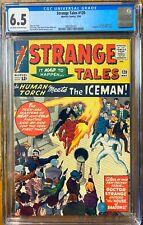 Strange Tales #120 CGC 6.5 1964 (1st Team-up Iceman & Human Torch) Marvel
