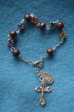 Réf 24 Bracelet dizainier médaille Miraculeuse gourmette chapelet rosaire femme