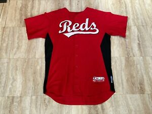 LEWIS-WALKER Team Issued Cincinnati Reds Spring Training Jersey MLB