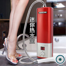 220V 3500W Caravan Camping Mini Portable Electric Hot Water Heater Shower System