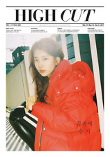 HIGH CUT VOL.210 SUZY ASTRO SULLI KOREA MAGAZINE TABLOID NEW