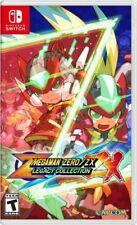Mega Man Zero / ZX Legacy Collection Nintendo Switch US Version * New *