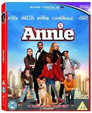 ANNIE - Blu-ray + ULTRAVIOLET (2014) JAMIE FOX - CAMERON DIAZ * NEW & SEALED *