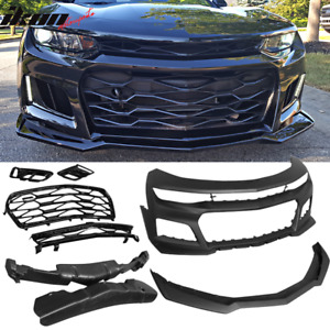 2016-2018 Chevrolet Camaro Front Lower Spoiler; For Ss Models; Prime//Paint To Match Finish Partslink GM1093104