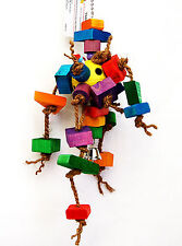 Pet Bird Parrot Toys Reggae Man For Mini Macaw Cockatoo African Grey Amazon
