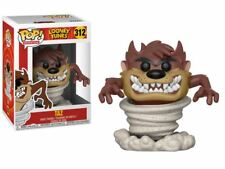 "LOONEY TUNES TAZ 3.75"" POP VINYL FIGURE FUNKO 312 POP ANIMATION UK SELLER"
