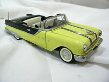 Franklin Mint 1955 Pontiac Star Chief 1:24 Yellow & Black Cert B11XN79 NIB