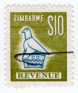 (I.B) Zimbabwe Revenue : Duty Stamp $10