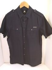Mens Rock & Republic S/S Military Style Shirt Cotton Sz M Button Front