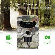 PR-100 Hunting Camera 12MP 1080P HD Night Vision Wildlife Trap Trail Cam Monitor