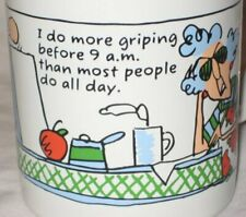 Maxine Mug Hallmark I Do More Griping Before 9Am Than Most People Do All Day
