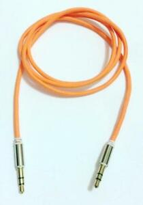 3.5mm Nylon Stereo Jack To Jack Audio Headphone Aux Cable Lead for iPhone ipod