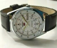 vintage seiko automatic men's steel japan made movement No 6309 run order