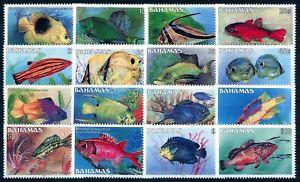 Bahamas Mi. 618/33XI**, ohne Jahreszahl, tadellos postfr. Serie (75,-€) (199/21)