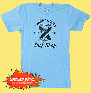 Point Break Shirt 100% cotton t-shirt Action Movies Surfing Shirt Patrick Swayze