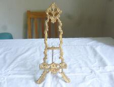 Vintage Brass Easel - Wedding/Restuarant Menu Holder?