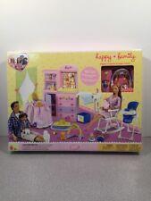 RARE 2002 BARBIE HAPPY FAMILY BABY NURSERY PLAYSET FOR MIDGE  ~NRFB