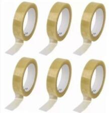 Tape Rolls Of Clear Strong Parcel Tapepacking Sellotape Packaging 24mm X40m