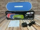 Creative D100 Bluetooth Portable Speaker Wireless or Wired Blue & White with Box