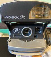 Polaroid P600 Instant Film Camera Silver Boxed Working