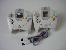 Lot de deux Manettes originale SEGA Dreamcast + une rallonge