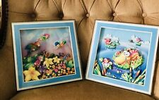 Two Kids 3D Pictures Wall Decor