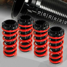 For 1988-2000 Honda Civic/CRX Red Suspension Scale Hi Lowering Coilover Springs
