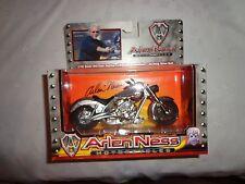 1:18 Arlen Ness Motorcycles Diecast Replica Working Suspension Drive Belt 1:43 T