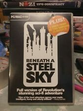 Beneath a Steel Sky PC MAC CD ROM classic 90s Retro Game rare