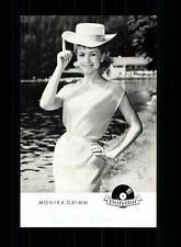 Monika Grimm Autogrammkarte Original Signiert ## BC 96143