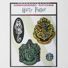 "HARRY POTTER ""SLYTHERIN"" House Patches - Iron-On Patch Mega Set #53 - FREE POST"