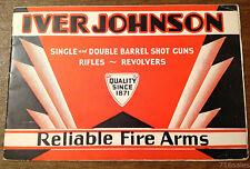 Vtg 1931 Iver Johnson Firearms Catalog Rifles, Revolvers, Single & Dbl Shotguns