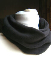 Soft neck warmer buff scarf casual running cycling climbing black unisex new