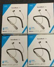 Lot 4 Anker SoundBuds Life Wireless Lightweight Bluetooth Neckband Headphones