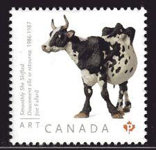 2012 Canada SC# 2522-Art Canada - Joe Fafard-Smoothly she shifted-Cow - M-NH