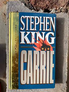 STEPHEN KING CARRIE COLECCIÓN DORADA libro book TAPA DURA clásico classic