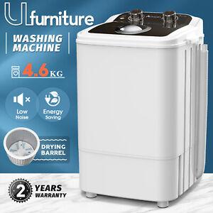 Ufurniture 5kg Top Load Washing Machine Single Tub Portable Quick Home Dry Wash