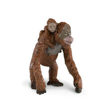 Orangutan With Baby Wildlife Figure Safari Ltd Toys Educational Figurine