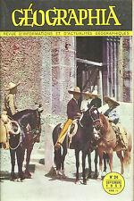 GEOGRAPHIA N° 24 + 1953 = RHIN + PHILIPPINES + BRESIL + CAOUTCHOUC + MEXIQUE