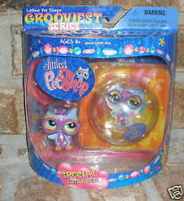 Littlest Pet Shop Special Edition HOOT OWL grooviest